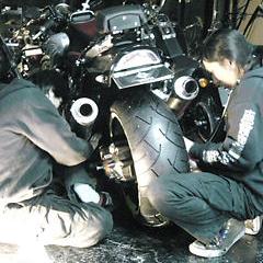 ★新型V-MAXの240ワイドタイヤ化を…♪★