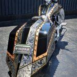 "☆★TRIJYA新作FLHR Roadking Bagger Custom ""KRONOS""くんのご紹介( ̄- ̄)ゞ★☆"