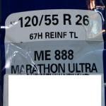 ☆★26inchホィール用METZELER E888 120/55R26タイヤを数量限定で販売いたします♪★☆
