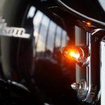 ☆★FLHXツアラー用フロントウィンカーに新型Mini LEDウィンカーを (*^▽^*)/ ★☆