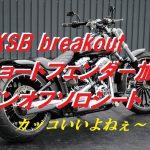 ☆★FXSB breakoutくんのショートフェンダー化&ソロシートを!~1~★☆