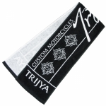 TRIJYA オリジナルマフラータオル 黒