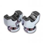 CVO用ハンドル取付用ライザー クローム/FXSB