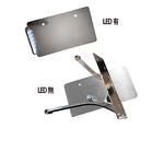 VRナンバーサイドマウントステー LED クローム/SOFTAIL