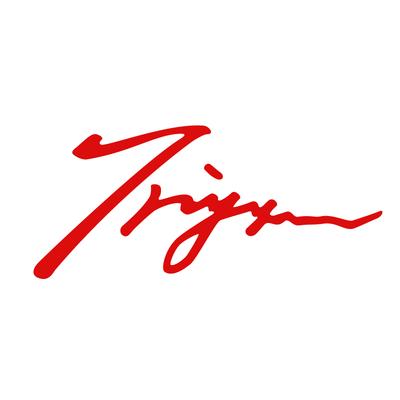 TRIJYA 太陽マークステッカーレッド(XL)