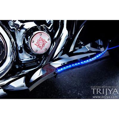 フットボード Knight ブラック LED ブルー