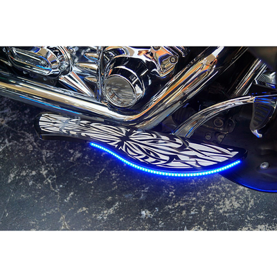 フットボード Type02 ブラック LED ブルー