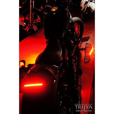 フットボード Type02 ブラック LED アンバー