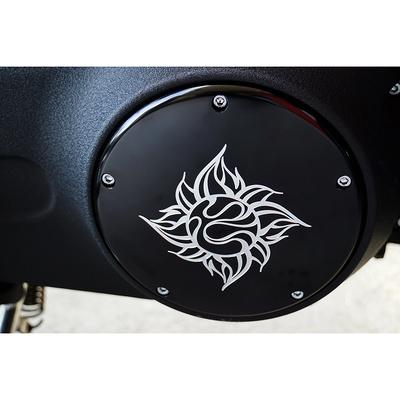 ダービーカバー Moon 太陽Logo ブラック