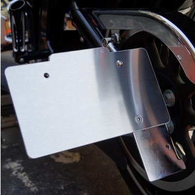 VRナンバーサイドマウント用縦横兼用ナンバーサポート LED有