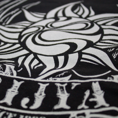 TRIJYA LOGO 半袖Tシャツ -WING- 黒