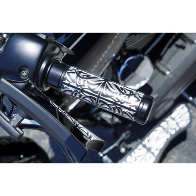 グリップ Type02 ブラック (ケーブルスロットル用)