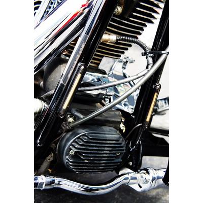 フレームマウントウインカー ブラック