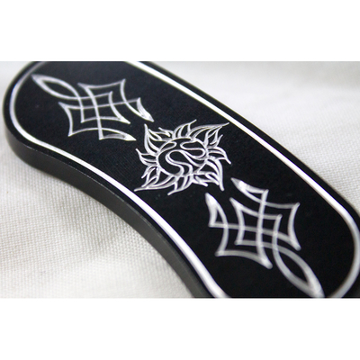 キャリパープレート Logo ブラック '17y~