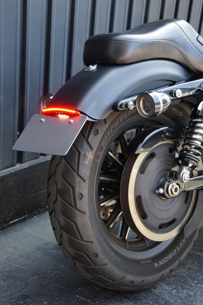 ナンバーサポート付テール LED レッド/XL