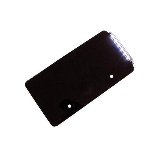 VRナンバーサイドマウントステーLED ブラック