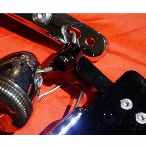 VWナンバーサイドマウント LED ブラック/FXSB/FXSBSE